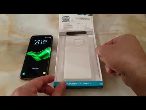 Speck PRESIDIO CLEAR case for galaxy S9 review