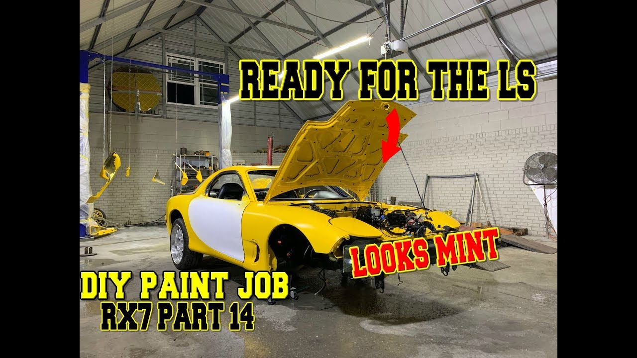 Rebuilding the CHEAPEST salvage LS Mazda RX7 FD IN THE WORLD [part 14]