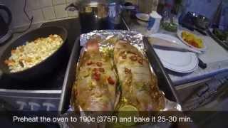 Csaba's Oven Baked Tilapia