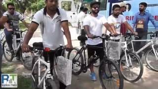 Ahmadiyya Muslim Youth Association of Qadian, India organize Ride 4 Peace