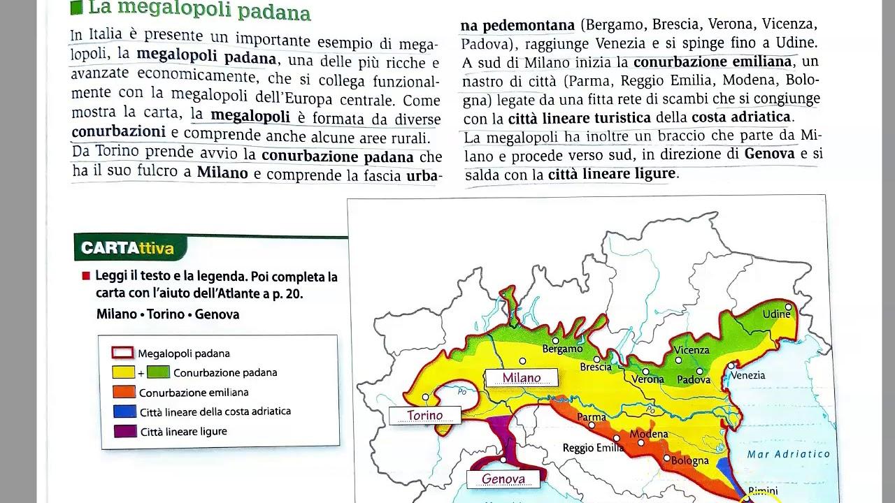 Cartina Italia Con Legenda.Geografia 1l 9 Le Citta Di Italia Ed Europa Youtube
