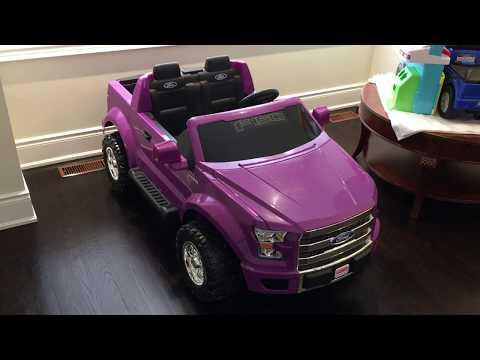 Fisher-Price Power Wheels Ford F-150 Purple Camo