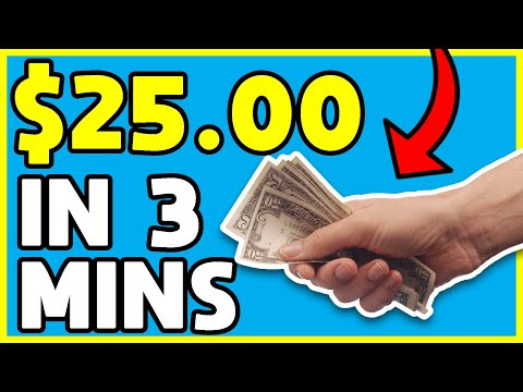 EARN $25 EVERY 3 MINUTES! (Make Money Online EASY)