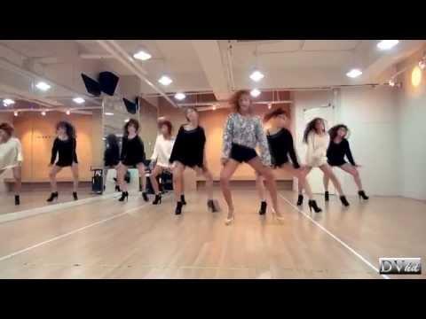 Hyorin (SISTAR) - One Way Love (dance Practice) DVhd