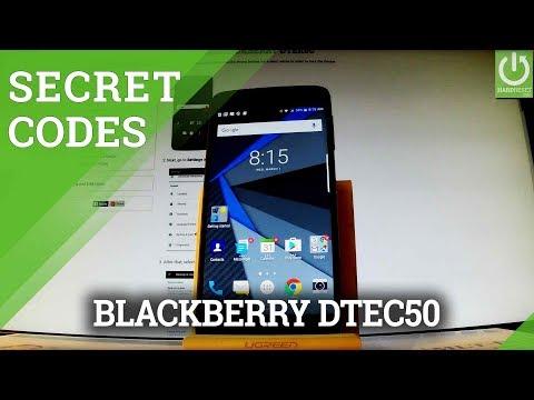 Secret Codes in BLACKBERRY DTEK50 - Tips & Tricks / Hidden