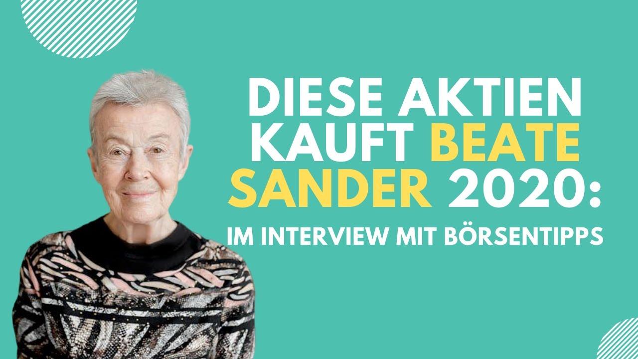 Beate Sander Aktien