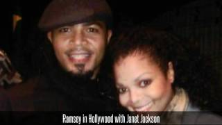 Ramsey in Hollywood with Janet Jackson
