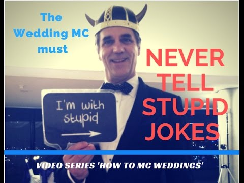Download MC TIPS 2020 How To Be A Funny Wedding MC Weddings without telling jokes. Emcee Laughter Tips