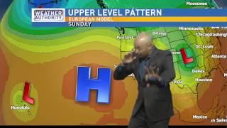 Weather Forecaster SNEEZES During Forecast