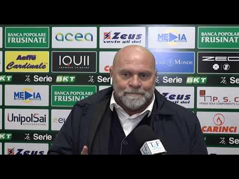 """Frosinone-Perugia 1-0, Cosmi: """"Sono Stufo, I Tifosi Si Sentono Presi Per Il Culo"""""""