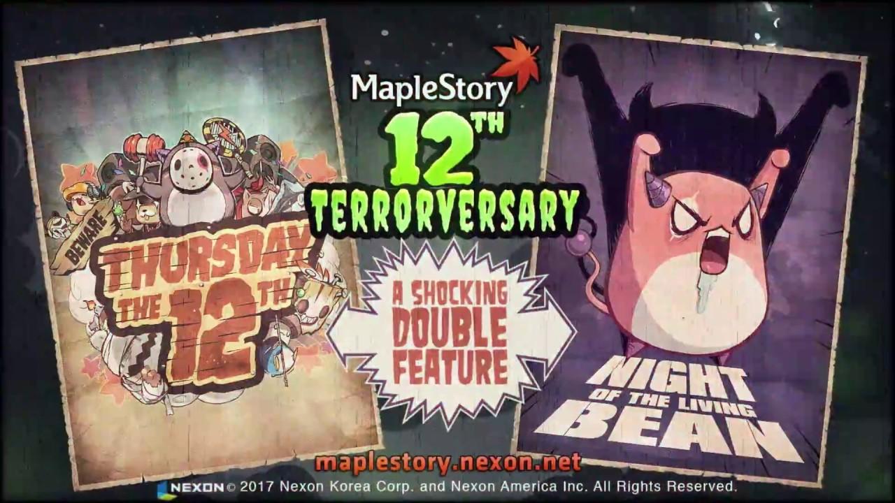 MapleStory 12th Terrorversary Trailer