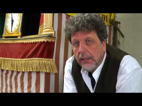 Clive Chandler  The Punch and Judy Man