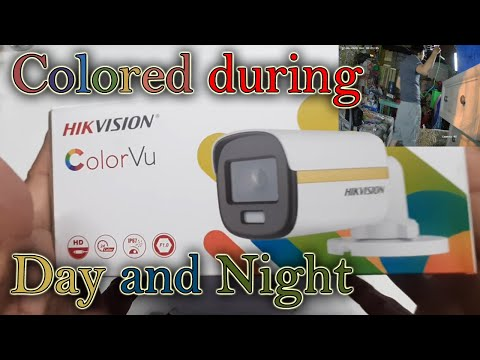 Hikvision Color VU 2MP Full Time color camera - captures night vision in full color