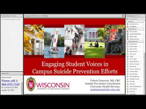 Engaging Student Voices in Campus Suicide Prevention Efforts 6.15.2016