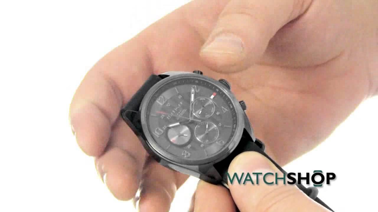857c5099 Tommy Hilfiger Men's Corbin Watch (1791189) - YouTube