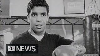 Champion boxer Lionel Rose prepares to defend world title | RetroFocus