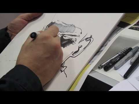 The Collection - Simon Bisley Draws Frankenstein - NYCC 2013