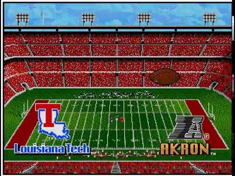 College Football USA '97 (video 163) (Sega Megadrive / Genesis)