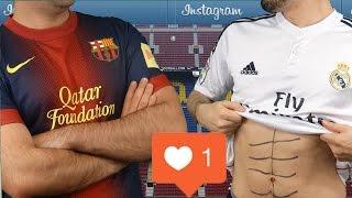 Cristiano Ronaldo vs Messi - Instagram Battle  In Real Life