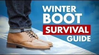 Winter Boots Survival Guide | Stop Salt & Water Boot Damage In Wet Snowy Weather
