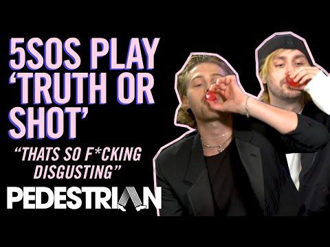 5SOS Play Truth Or Shot | PEDESTRIAN.TV