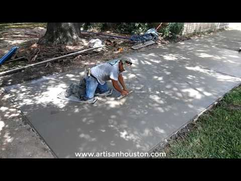 Quick Driveway Replacement - Spring TX