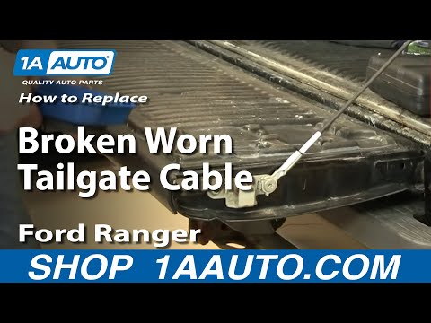 How To Install Replace Window Regulator Ford Ranger 93 10