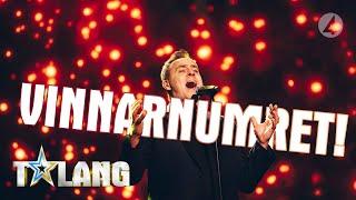 Micke gor en fantastisk tolkning av Creep i finalen av Talang 2019 - Talang (TV4)