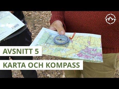 Säker Vandring - Avsnitt 5 - Karta och kompass