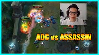 Here's How HIGH ELO ADC outplays ASSASSIN - LoL Daily Moments Ep 1394