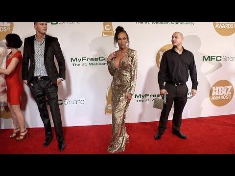 Mia Isabella 2018 XBIZ Awards Red Carpet