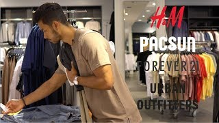 Back to School Shopping (H&M, Pacsun, Forever 21, Urban Outfitters)