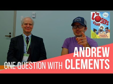 One Question With Andrew Clements: Raising Readers