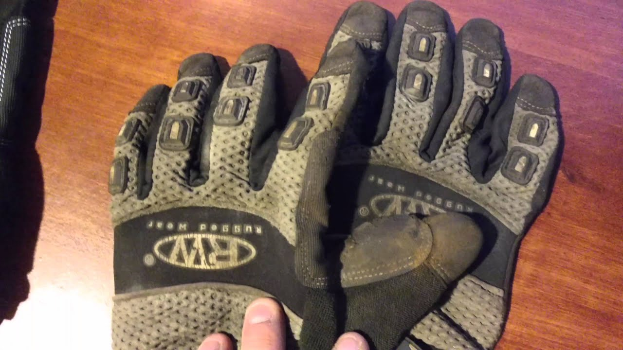 Amazing Rugged Wear Construction Gloves Review