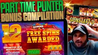 Part Timer Slots Bonus Compilation! Inc Game Of Gladiators Streaking!