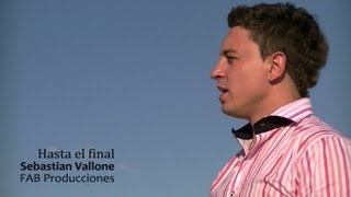"Hasta el final - David Bisbal (Cover) Sebastian Vallone - Novela ""Solamente vos"""