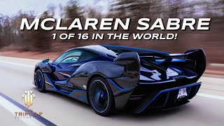INTRODUCING THE 1 OF 16 MCLAREN SABRE!