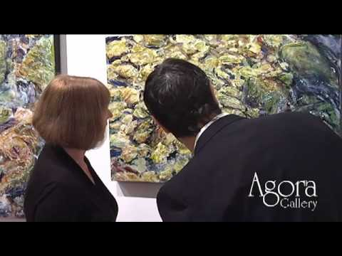 Agora Gallery, Chelsea, NYC, Art Gallery Video. Opening Reception September 15th, 2011.