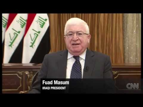 Iraqi President pleas for support