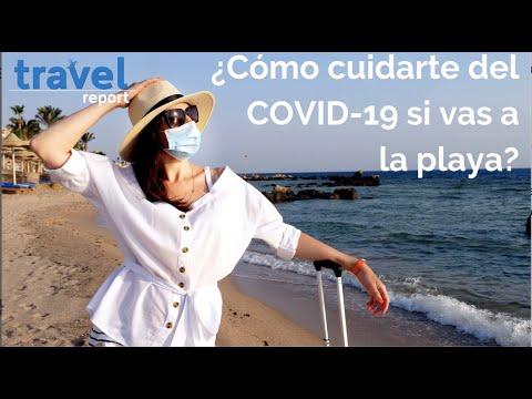 ¿Cómo cuidarte del COVID-19 en la playa?