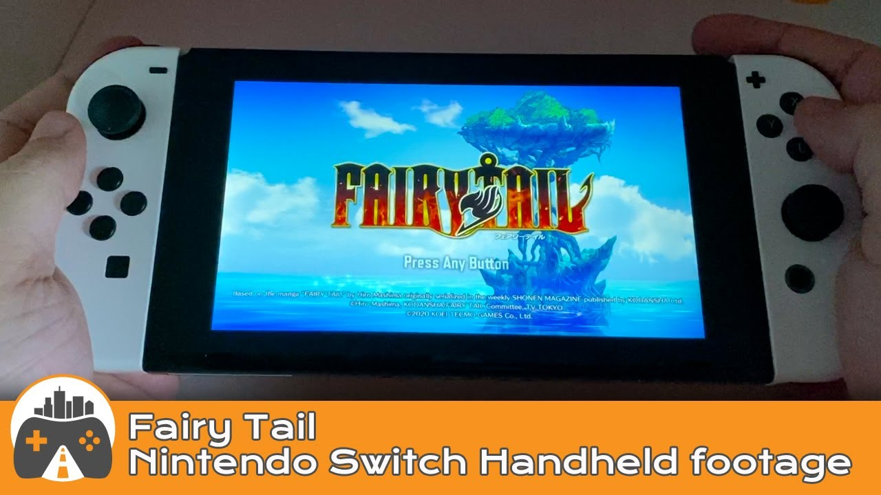 [Fairy Tail] Switch handheld footage
