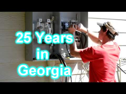 Electric Safety: 400 Amp Electric Service Installed Gainesville GA