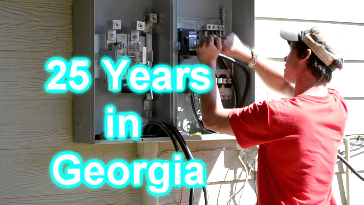 Electric Safety 400 Amp Service Installed Gainesville Ga For Entrance Transfer Switch Wiring Diagram Youtube