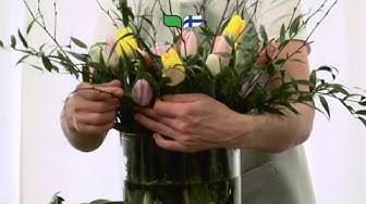 Lähikukkavinkki: Luonnonkaunis tulppaanikimppu