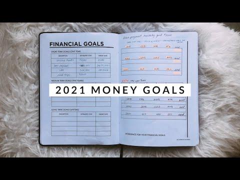 My 2021 Financial Trackers | Money Goals & Visual Roadmaps | Aja Dang