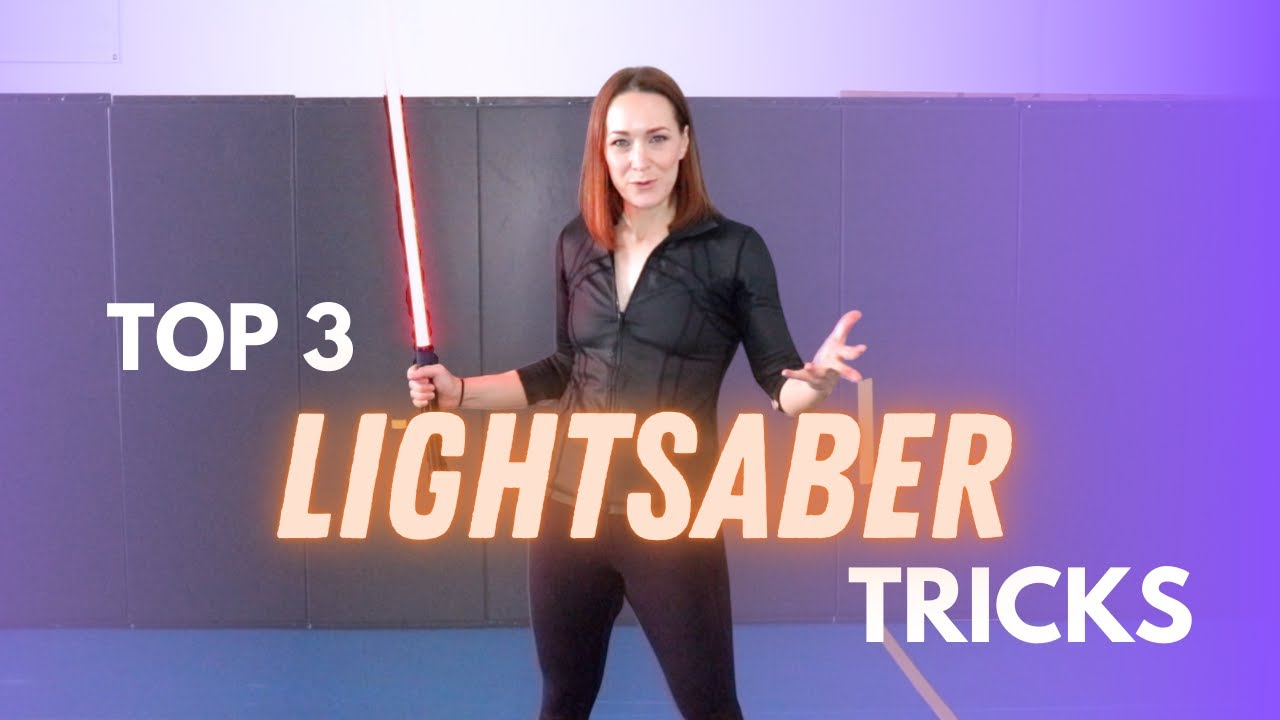 TOP 3 LIGHTSABER TRICKS   Michelle C. Smith (Intermediate)