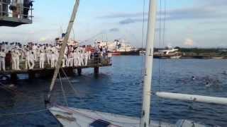 İTÜ Denizcilik Fakültesi Mezuniyet Töreni Denize Atılma