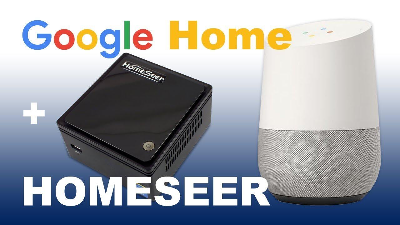 Google Assistant Integration | HomeSeer