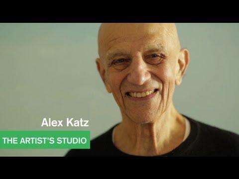 Alex Katz - A Dialogue - The Artist's Studio - MOCAtv