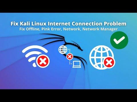 Fix Kali Linux Internet Connection Problem